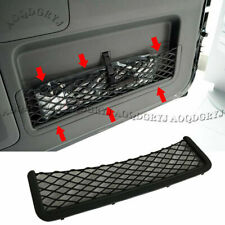 For Toyota Prado120 03-2009 Gray Trunk Tail Door Toolbox Pocket Cage Storage Net