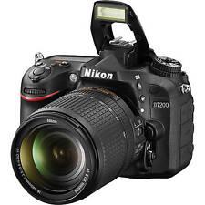 Sale Nikon D7200 24.2Mp Digital Slr Camera + Nikkor 18-140mm Lens Retail Box