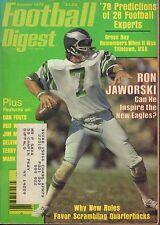 Football Digest Magazine October 1978 Ron Jaworski 072017nonjhe