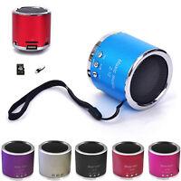 Wireless Portable Mini Speaker FM Radio USB Micro SD TF Card MP3 Player HiFi New