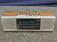 GE General Electric Dual FM/AM Stereo Radio Alarm Clock Digital Vintage Time