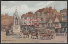 A R QUINTON POSTCARD - High Street, Maidstone 1408