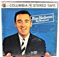 """Jim Nabors By Request Reel To Reel Tape 4 Track 7.5"""" Columbia Stereo Tape"""