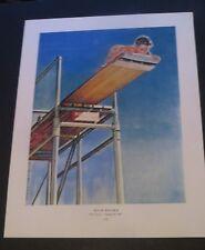 Norman Rockwell 1947 HIGH BOARD & CROCUSES Original Book Pressing Print