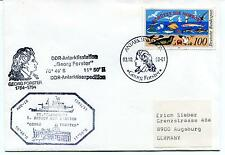 1990 Georg Forster Station Polarstern ANT-XI DDR Polar Antarctic Cover