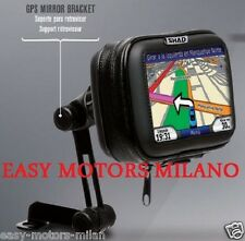 X0SG40M PORTA NAVIGATORE 4.3 GPS MOTO E SCOOTER E MAXI SCOOTER DA SPECCHIO