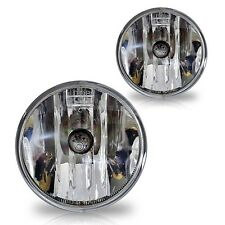 Fit for 2010 2011 2012 Camaro bumper Fog light assembly set clear pair