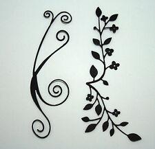 MEMORY BOX SWIRLS/FLOURISH /DECORATIVE LEAF/ FLOWER  DIE CUTS