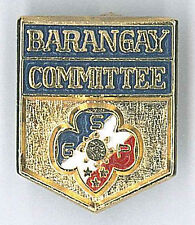 GIRL SCOUTS (GUIDES) OF PHILIPPINE (GSP) - BARANGAY COMMITTEE Metal Pin Patch