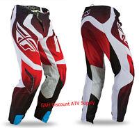 Mens Small 30 Waist Fly Racing 2020 Lite Hydrogen Blue//Black//Hi-Vis Motocross Adult Gear Set