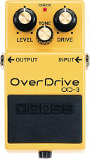 NEW BOSS OD-3 OverDrive Pedal FREE Priority Mail+AC Adapter