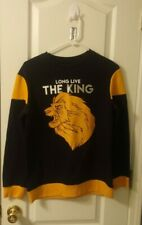 Disney's The Lion King Sweater Size Kid's  Large  Long Live the King