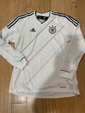 Adidas DFB Germany LS Player Issue Jersey Sz XL BNwT X21782 Rare White