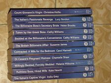 tw* SALE #21 LOT OF 11 MILLS & BOON MODERN ROMANCES  Assorted Authors