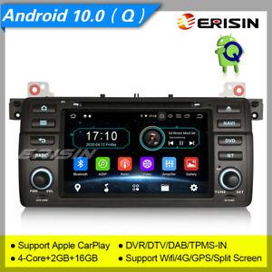 Android 10 Autoradio BMW E46 M3 MG Rover 3er GPS DAB+ DVR CarPlay TPMS Wifi 5946