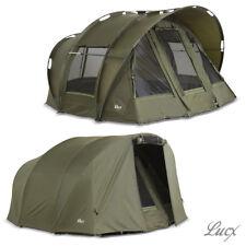 Lucx 2 Mann Tenda pesca + Copertura/Bivvy+Winterskin/Carpa Tenda+