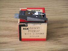 Vintage Rca 116932 Genuine Replacement Cartridge w/ Diamond Needle& Pickup Nos
