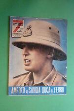7 Années De Guerre Photostory 1960 VOL.23 Amedeo De Savoie Duc De Fer