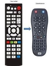 REMOTE CONTROL FOR WD Western Digital TV LIVE PLUS HD WDBREC0000NBK WDBG3A0000