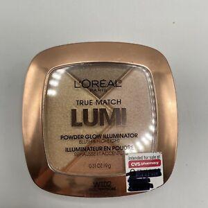 Loreal True Match Lumi Powder Glow Illuminator Blush Highlight W102 Golden New