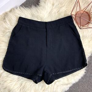 The Editor's Market sz S black pockets women shorts casual basic