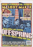 OFFSPRING / PAVEMENT / DRUGSTORE / SHELLAC / MOBY Melody Maker 15 April 1995