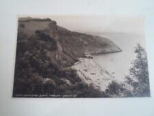 Vintage Postcard 5874 ODDICOMBE BEACH, TORQUAY  Franked+Stamped §A651