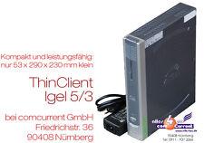 MINI-PC THIN CLIENT IGEL 5/3 564LX 4210LX NETZTEIL + 12V BETRIEB VGA + DVI RS232