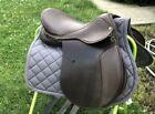 "EUC 18.5"" Collegiate All Purpose Brown Leather Saddle"