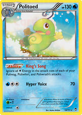 4X Pokemon Furious Fists Politoad 18/111 Rare Card
