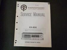 Original Service Manual Schaltplan  Kenwood KX-800