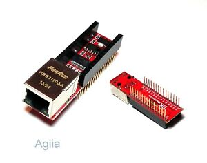 Mini ENC28J60 Webserver module Ethernet Shield board for Arduino Nano