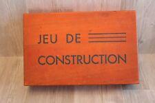 Ancien jeu de construction en bois - Architecture Moderne - 39 pièces