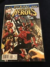 More details for age of heroes #1-4 comic set 2010 - marvel comics - spider-man captain america