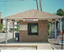 METRO NORTH TRAIN STATION Seymour Connecticut  WATERBURY BRANCH Photo Card