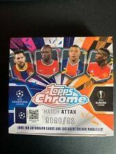 Topps Match Attax Chrome 20/21 - Individual Refractor and Parallel Cards