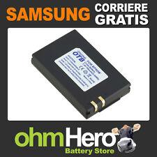 IA-BP80W Batteria Hi-Quality per Samsung SC D385, DX103, DX205, SC-D385,