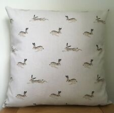 Sophie Allport **HARES**  Cotton Cushion Cover 40cm