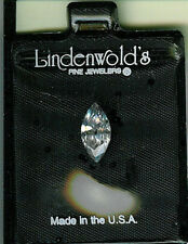 Large Lindenwold's Fine Jewelers ~ 1.43 Carat ~ Marquise Cut ~ Simulated Diamond