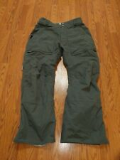 Burton Tactic Snowboard Pants Size XL Winter Ski Sports Snow Tan/Gray