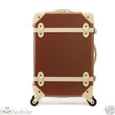 """EDDAS ETHOS Vintage Style  Brown 20"""" Carry-on Travel Luggage Carrier"""