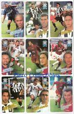 Calcio Calling Cards 1997-98 Set Completo Panini ATW
