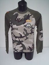 t-shirt   williams wilson , air america ,colore VERDE MILITARE  tg m