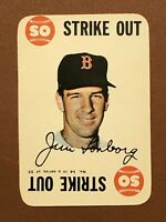 1968 Topps Game Jim Lonborg Card #14 MINT OC - Boston Red Sox