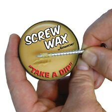 FASTCAP SCREW WAX MADE FROM BEE WAX TURN SCREW WITH LESS TORQUE & NOISE