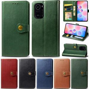 Luxury Wallet Leather Flip Cover Case For Xiaomi Poco X3 Pro Redmi Note 9S 9A 9C