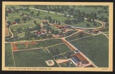Postcard LEXINGTON Kentucky/KY  Idle Hour Race Horse Farm Aerial view 1930's