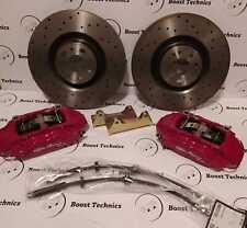 Kit Pinze Impianto Frenante Brembo Maggiorato 4 Pot 330x28 Alfa Romeo 147 & 156
