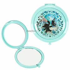 Disney Lilo & Stitch Scrump Silhouette Filigree Cut Out Hinge Compact Mirror NEW