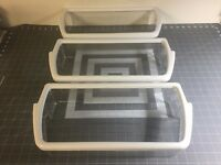 Whirlpool Refrigerator Door Bin Shelfs (set of 3) P# W10321304